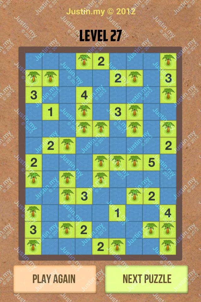 Number Island Nurikabe Master Pack Level 27