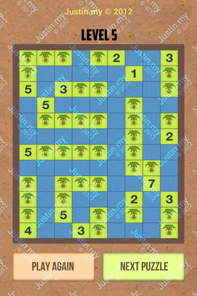 Number Island Nurikabe Master Pack Level 5