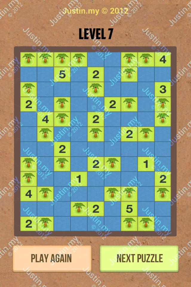 Number Island Nurikabe Master Pack Level 7