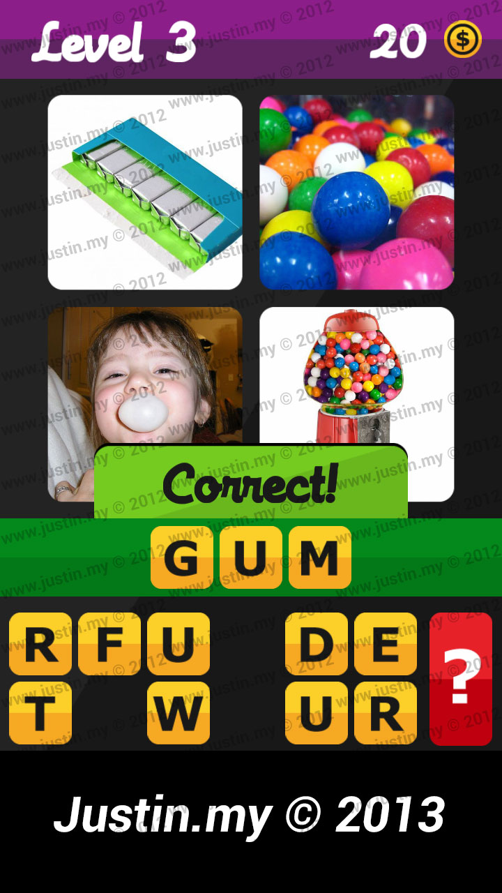 What's the Word Answers Level 3