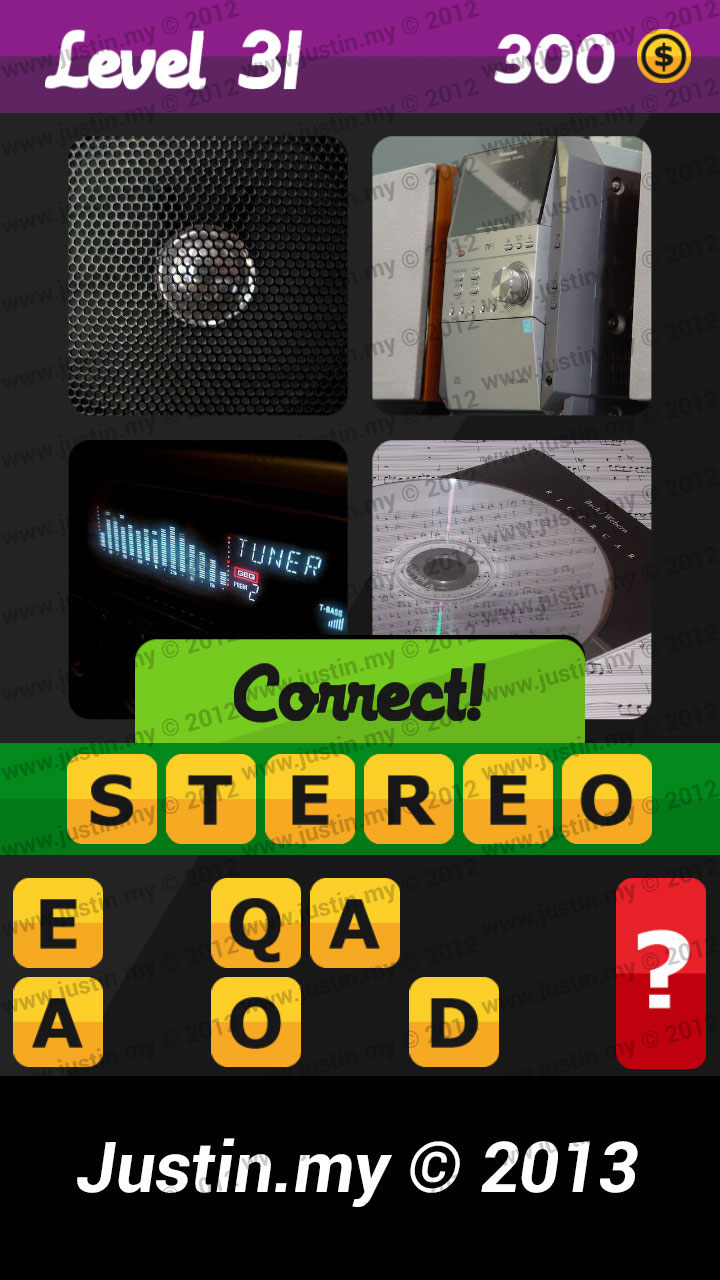 What's the Word Answers Level 31