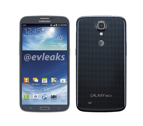 Samsung Galaxy Mega 6.3 Image Leak With AT&T Branding