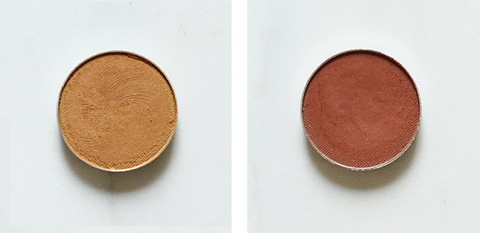 Makeup Geek Eyeshadow in Dessert Sands Photos Review Swatches, Makeup Geek Eyeshadow in Cocoa Bear Photos Review Swatches
