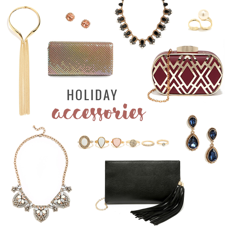 What to Wear | Holiday Accessories // JustineCelina.com
