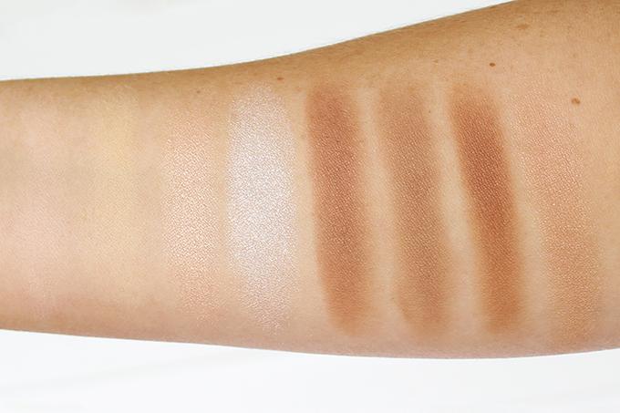 Makeup Revolution Ultra Contour Palette Photos, Review, Swatches // JustineCelina.com