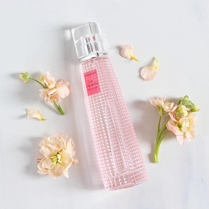 GIVENCHY Live Irresistible Eau de Toilette Photos, Review // JustineCelina.com