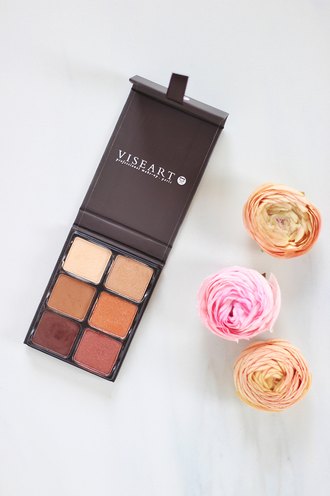 Viseart Theory II Palette in Minx Photos, Review, Swatches // JustineCelina.com