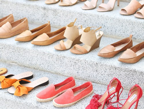 Summer 2017 Mega Shoe Guide   30 Pairs! // JustineCelina.com