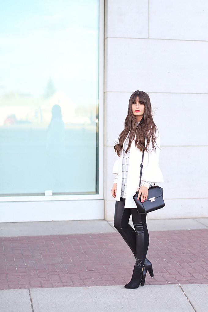 Autumn 2017 Trend Guide   Street Chic   Biggest Fall 2017 Trends   Best Red Lipsticks for Fall 2017   Bangs for Fall 2017   Calgary Fashion Blogger // JustineCelina.com