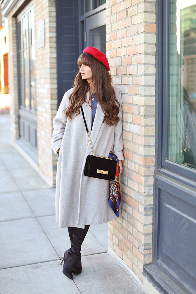 Winter 2018 Trend Guide   January Blues + My 300th Blog Post!   Winter 2018 Top Fashion Trends   Calgary Fashion + Lifestyle Blogger // JustineCelina.com