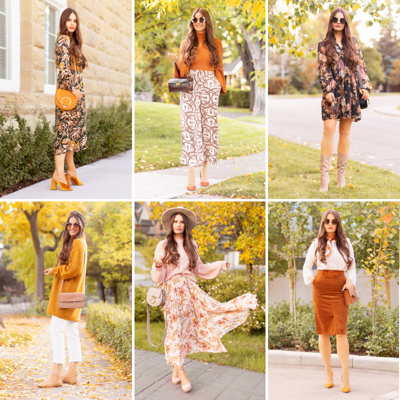 Summer to Fall 2019 Transitional Lookbook | Top Summer to Fall 2019 Transitional Trends | Top Autumn 2019 Trends and How to Wear Them | The Best Fall Outfits for Work | Bohemian Fall Outfit Ideas | Canadian Fall Style Ideas | Fashion Over 30 | Vintage Inspired Fall 2019 Outfits | Creative Fall 2019 Outfit Ideas | How to Wear the NY Fashion Week Autumn/Winter 2019/2020 Color Trend Report | Top Calgary Fashion & Creative Lifestyle Blogger // JustineCelina.com