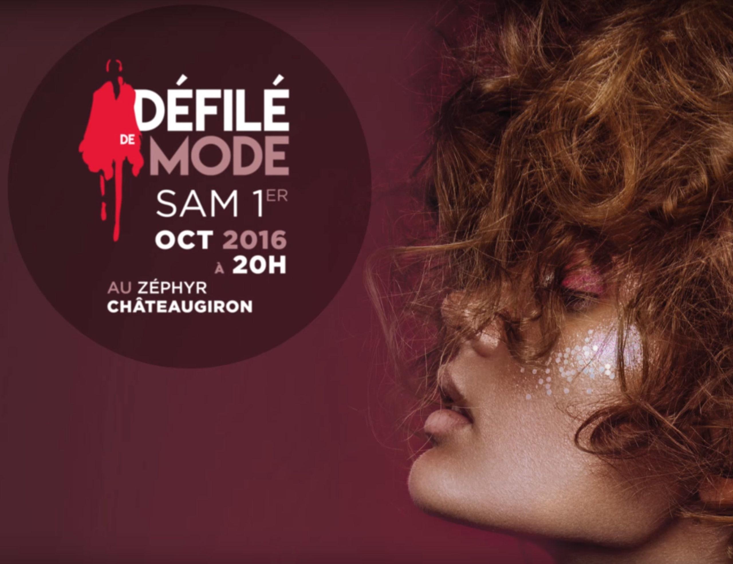 Organisation d'un défilé de mode pour la ville Châteaugiron.