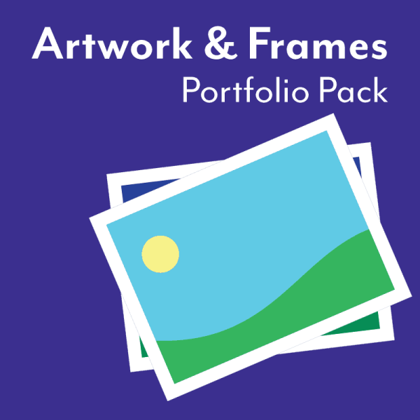 Artwork and Frames Portfolio Pack