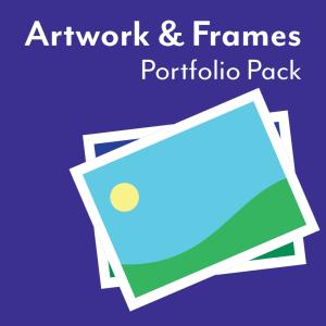Artwork and Frames Portfolio Pack