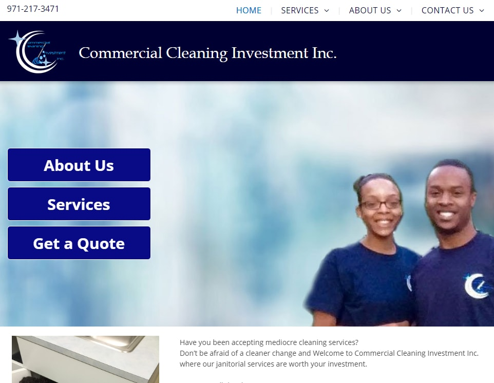 Commercial Cleaning Investment