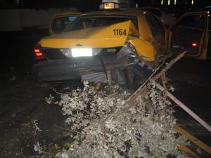 Accidente de taxi Florida