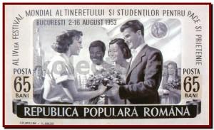 Festivalul Mondial al Tineretului - București, 1953.
