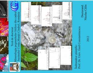 Foto 5: Coperta lucrării de doctorat a geologului Nicolae Călin.