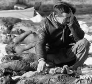 Fotografie fake de la Timșoara cu groapa comună unde au fost îngropate pe ascuns victimele Securității. Ulterior aceeași fotografie a fost folosită și în cazul Libiei.