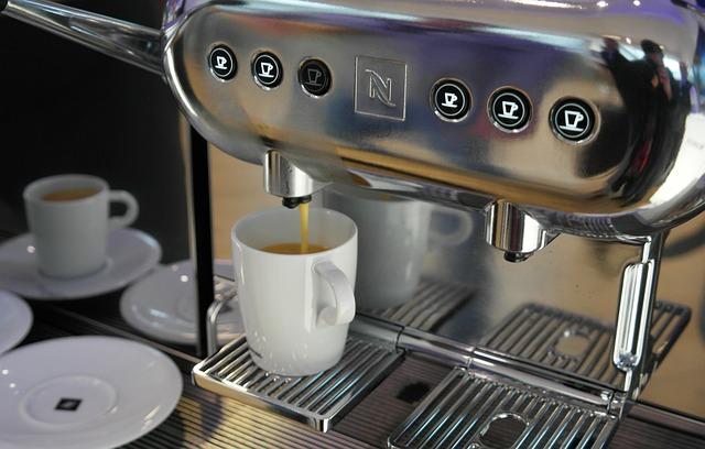 acta funcionamiento máquina café