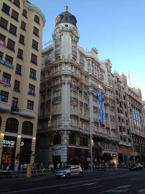 Madrid con amigos buenos