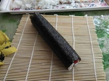 sushi rollo listo