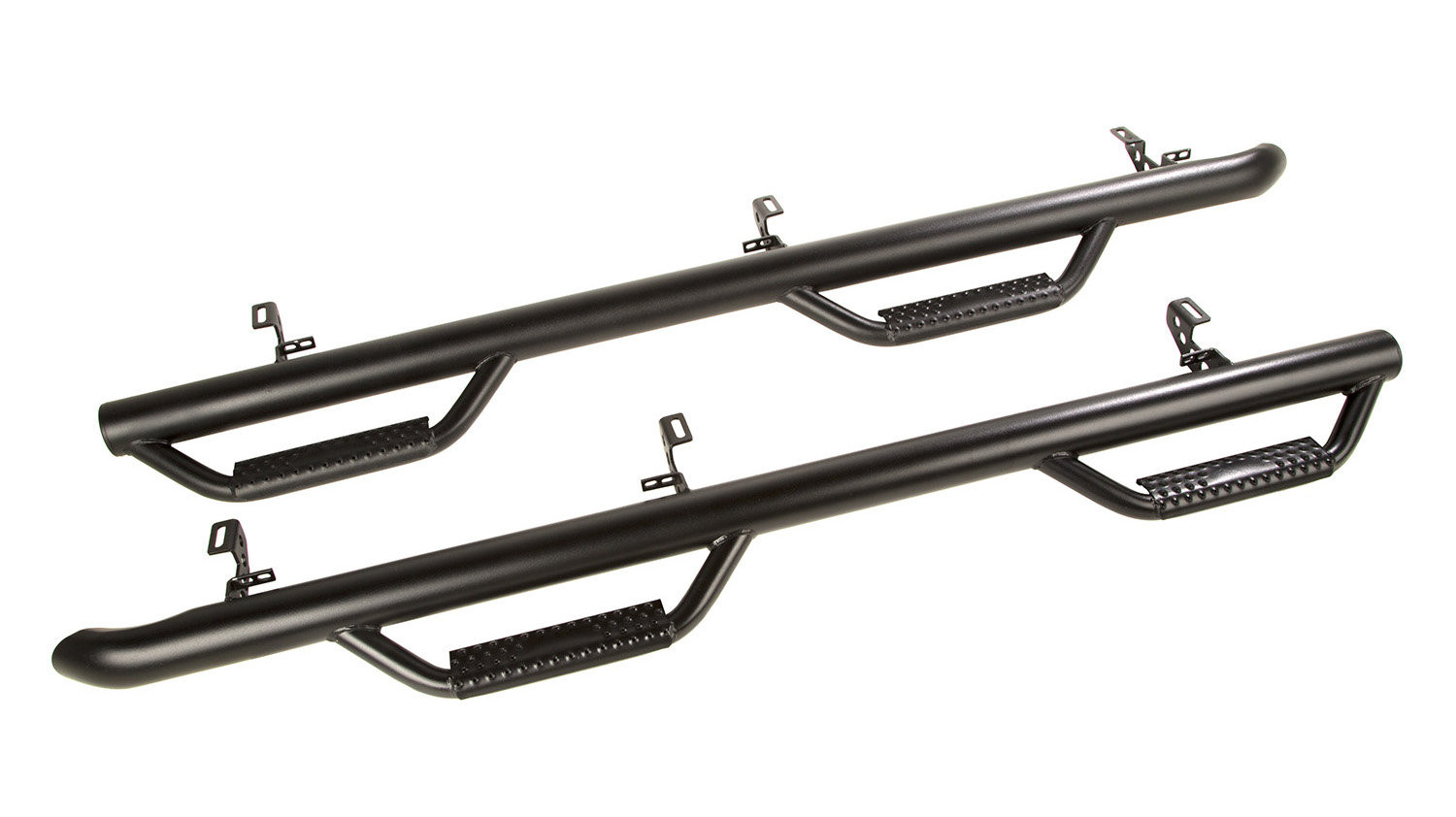 Just Jeeps Rugged Ridge Black Spartan Nerf Bars For