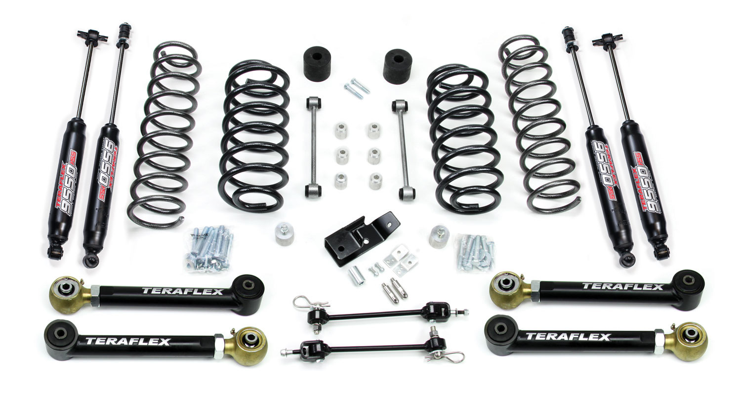 Just Jeeps Teraflex 3 Performance Suspension System With