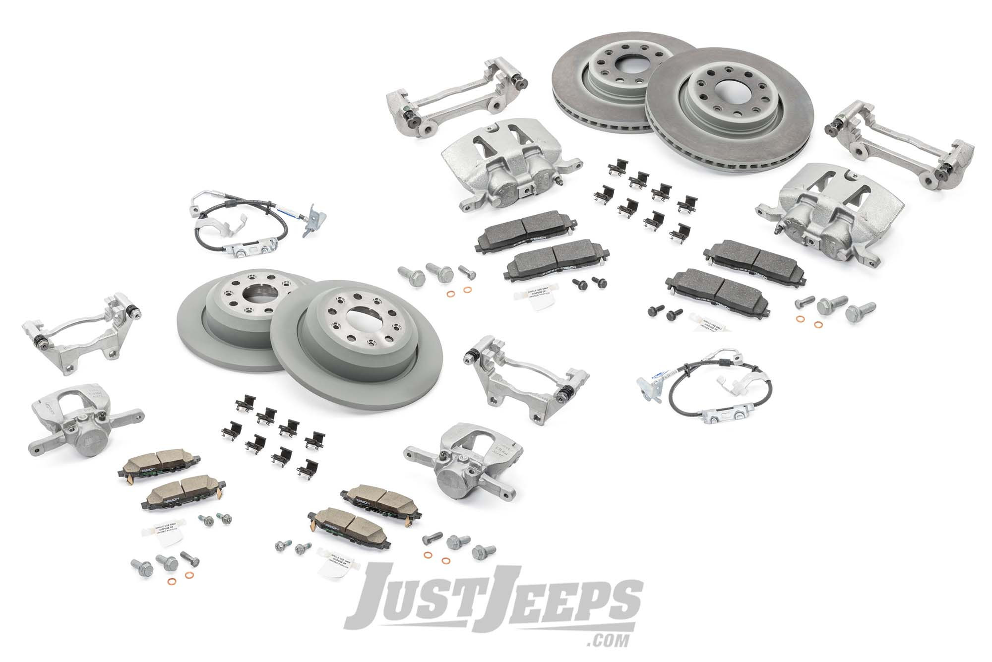 Just Jeeps Mopar Big Brake Kit For Jeep Wrangler Jl