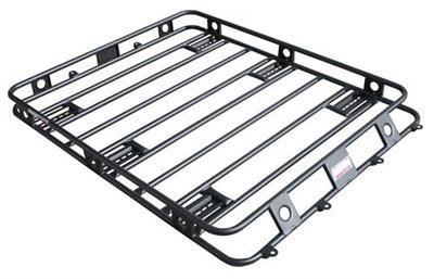 smittybilt defender series roof rack basket 4 5 x 4 5 for jk 4 door hardtop 45454