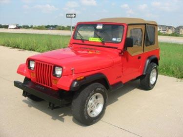 1989 Jeep Wrangler 4x4 YJ For Sale