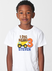 Third Birthday Party Shirt For Boys Birthday Age T Shirts For 3 Year Old