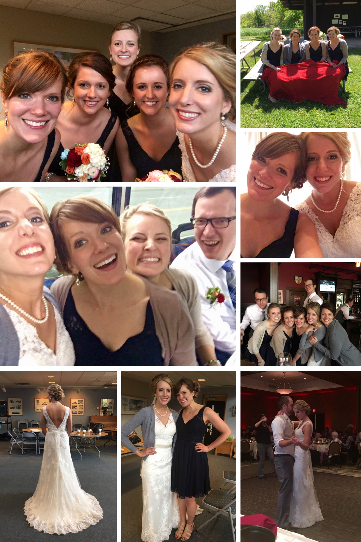 Jaci's wedding