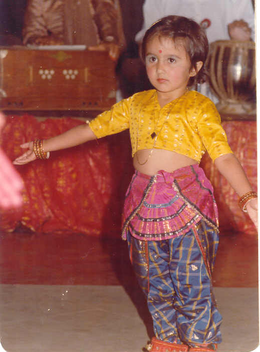 My first dance performance