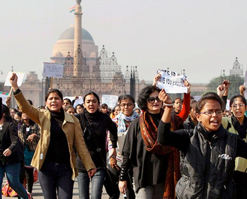 Women Protest March, New Delhi, Indiaindia