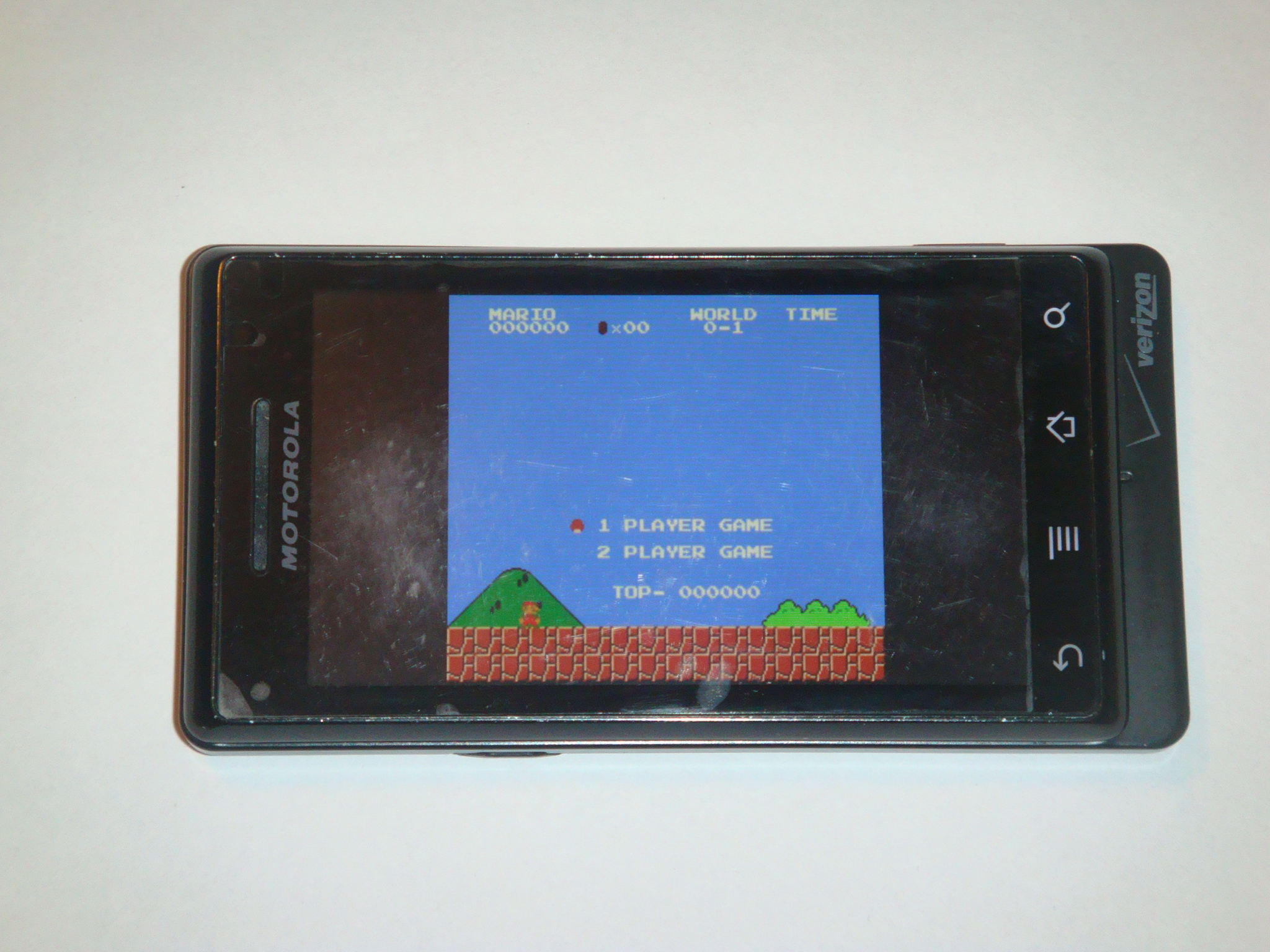 Droid x android emulator