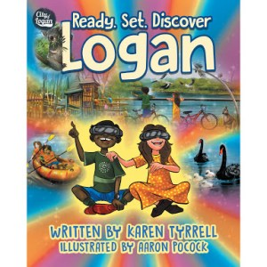 Picture book review: Ready. Set. Discover Logan