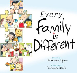 #InterviewByBook with Every Family is Different by Maureen Eppen