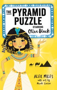 Book Review: The Pyramid Puzzle, Starring Olive Black