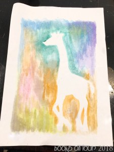 Charlie's Activity: Watercolour Safari Painting