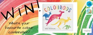 Colour My World! It's the Colouroos #BookGiveaway!