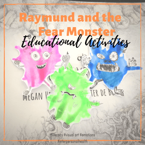 Raymund and the Fear Monster Blow Art Activity
