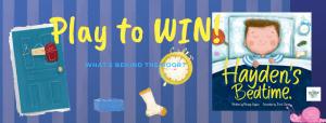 Play to WIN! Hayden's Bedtime #BookGiveaway!