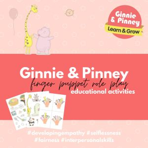 Ginnie and Pinney Finger Puppet Role Play Activities