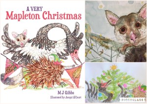 Inspiring A Very Mapleton Christmas by Marg Gibbs