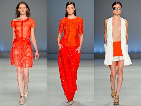 Tendência para o verão/2013: Tangerine Tango