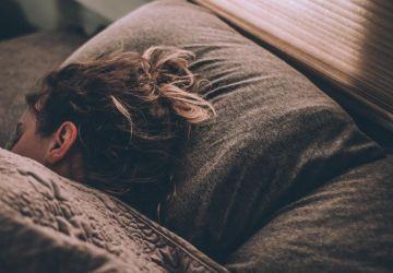 slapeloze vrouw