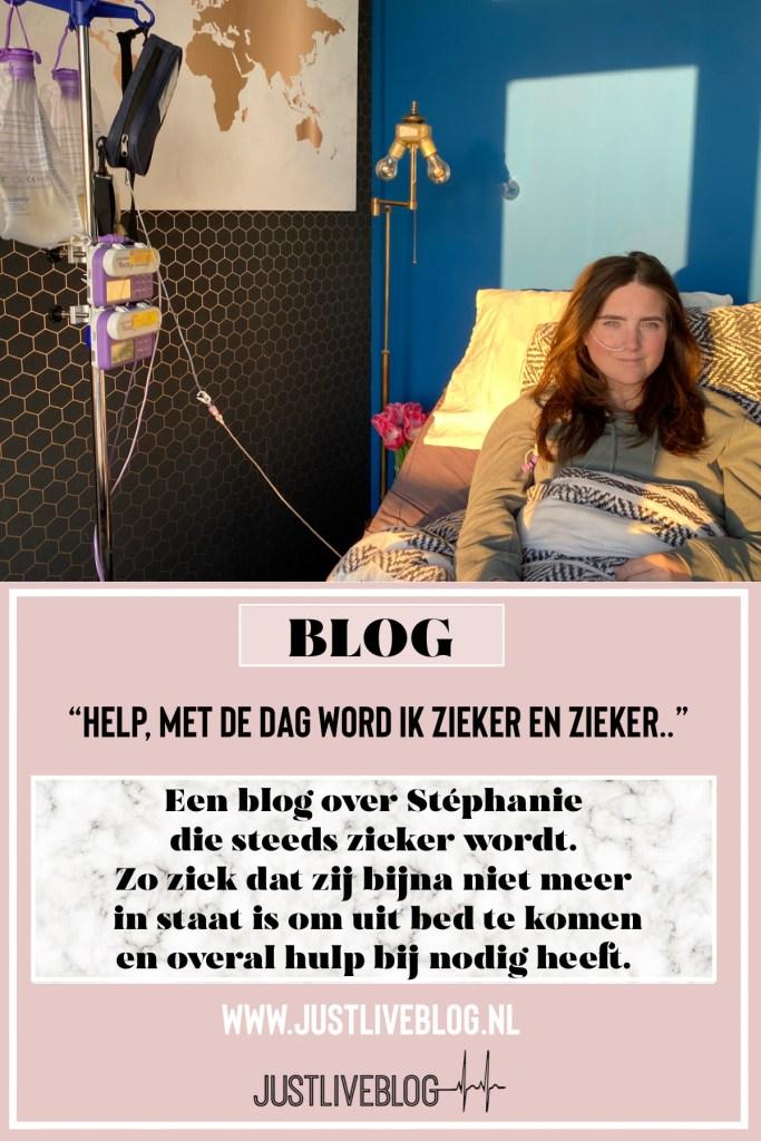 stephanie juliana ziek in bed