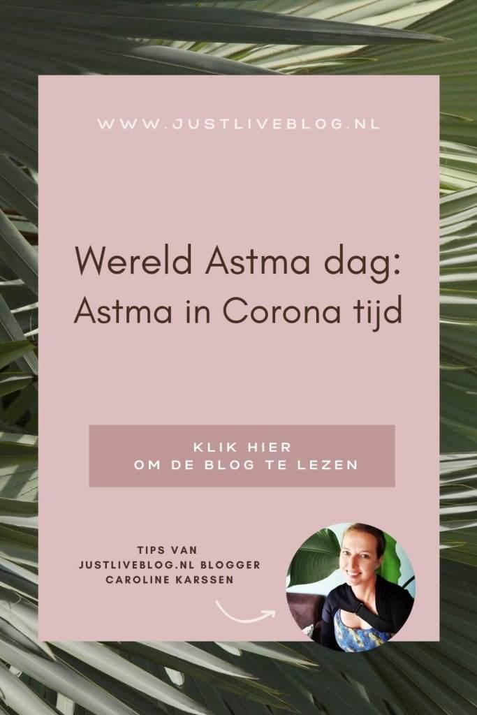 Pinterest post Wereld Astma dag