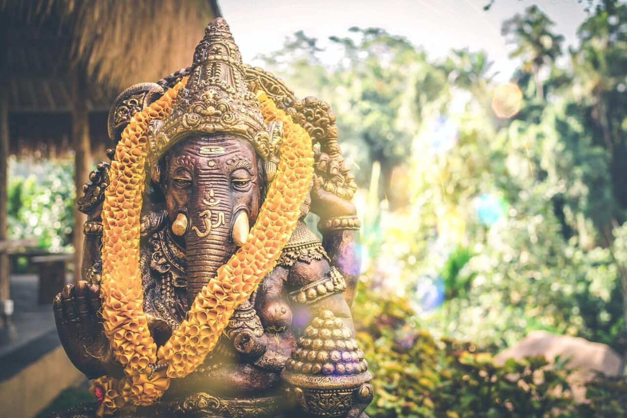 tempel india olifant god